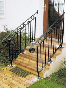 Rampe d 39 escalier for Escalier en fer exterieur